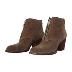 Bottines & low boots à talons MARC JACOBS Beige, camel