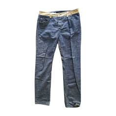 Straight Leg Jeans CARVEN Blue, navy, turquoise