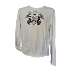 Tee-shirt MOSCHINO Blanc, blanc cassé, écru