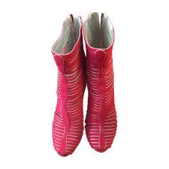 Heeled Sandals SERGIO ROSSI Pink, fuchsia, light pink