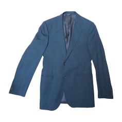 Costume complet DOLCE & GABBANA Bleu, bleu marine, bleu turquoise