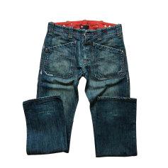 Jeans largo DIESEL délavée