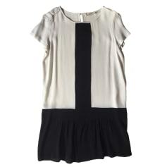 Robe courte BA&SH Noir et blanc
