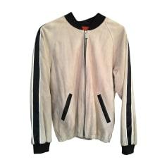 Zipped Jacket BARBARA BUI Beige, camel