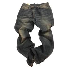Jeans largo, boyfriend DONDUP Blu, blu navy, turchese