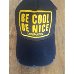 Cap DSQUARED Blue, navy, turquoise
