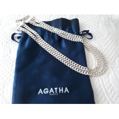 Collier AGATHA Argenté, acier