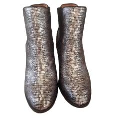 Bottines & low boots à talons MELLOW YELLOW Argenté, acier