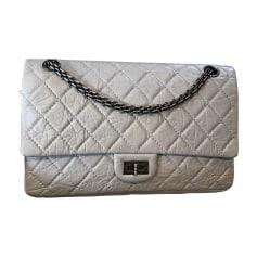 Leather Shoulder Bag CHANEL White, off-white, ecru