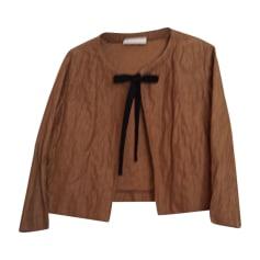 Blazer, veste tailleur VANESSA BRUNO Doré, bronze, cuivre