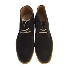 Chaussures à lacets J.M. WESTON Bleu, bleu marine, bleu turquoise