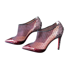 Escarpins CHRISTIAN LOUBOUTIN Rouge, bordeaux