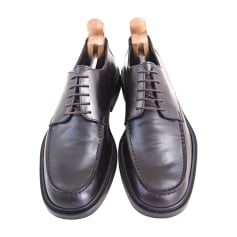 Chaussures à lacets GUCCI Marron