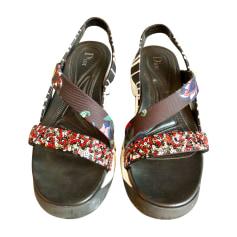 Flat Sandals DIOR Multicolor