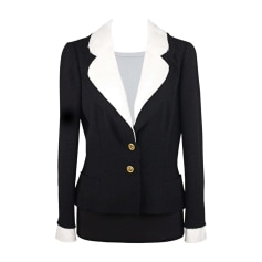 Manteaux Vestes Chanel Femme Occasion Articles Luxe Videdressing
