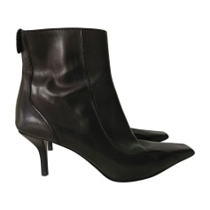 Bottines & low boots à talons GUCCI Noir