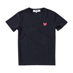 Top, T-shirt COMME DES GARÇONS PLAY Noir et blanc