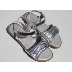 Sandales ASTER Argenté, acier