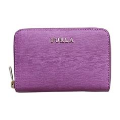 Münztasche FURLA Violett, malvenfarben, lavendelfarben
