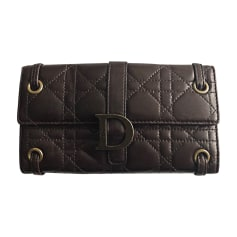 Portefeuille DIOR Marron