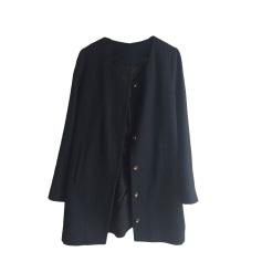 Coat DES PETITS HAUTS Black