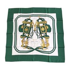 Silk Scarf HERMÈS Green