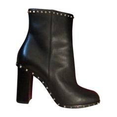 Bottines & low boots à talons VALENTINO Noir