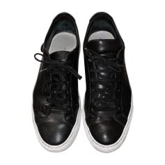 Chaussures à lacets COMMON PROJECTS Noir