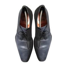 Chaussures à lacets SANTONI Bleu clair