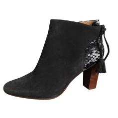 Bottines & low boots à talons SÉZANE Gris, anthracite