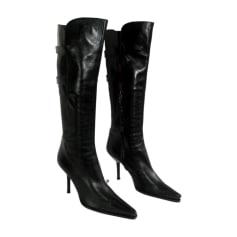 High Heel Boots SERGIO ROSSI Black