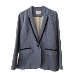 Blazer, veste tailleur CLAUDIE PIERLOT Bleu, bleu marine, bleu turquoise