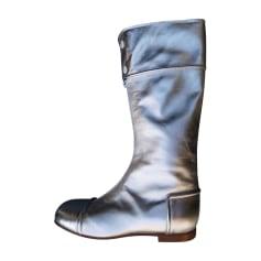 Flat Boots COURRÈGES Silver