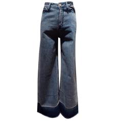 Jeans évasé, boot-cut MANOUSH Denim délavé