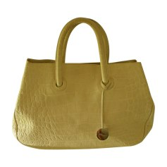 Leather Handbag FURLA White, off-white, ecru
