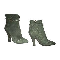 Bottines & low boots à talons DOLCE & GABBANA Vert