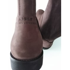 Boots AIGLE Brown