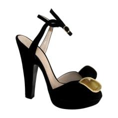 Sandales à talons SONIA RYKIEL Noir