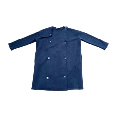 Caban STELLA MCCARTNEY Bleu, bleu marine, bleu turquoise