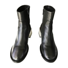 Bottines & low boots à talons MM6 MAISON MARTIN MARGIELA Noir