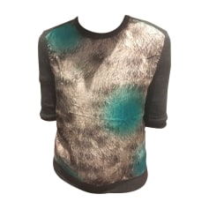 Pull CARVEN Gris/bleu turquoise
