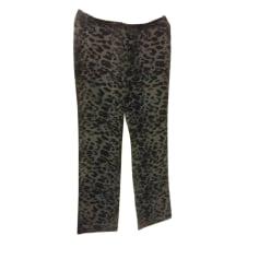 Pantalon droit BA&SH Imprimés animaliers