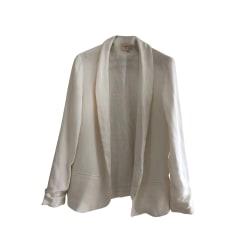 Blazer, veste tailleur BA&SH Blanc, blanc cassé, écru