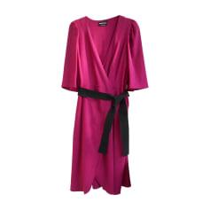 Robe mi-longue SONIA RYKIEL Rose, fuschia, vieux rose