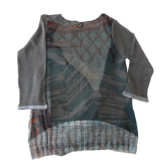 Gilet, cardigan SAVE THE QUEEN Gris, anthracite