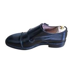 Chaussures à boucles PAUL SMITH Noir