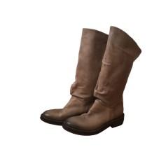 Riding Boots VIC MATIÉ Beige, camel