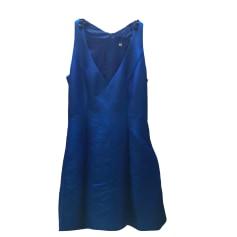 Robe courte ADOLFO DOMINGUEZ Bleu, bleu marine, bleu turquoise
