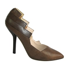 Pumps, Heels JEAN PAUL GAULTIER Brown