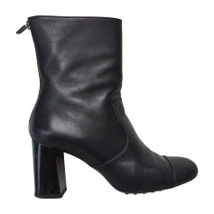 Bottines & low boots à talons TOD'S Noir